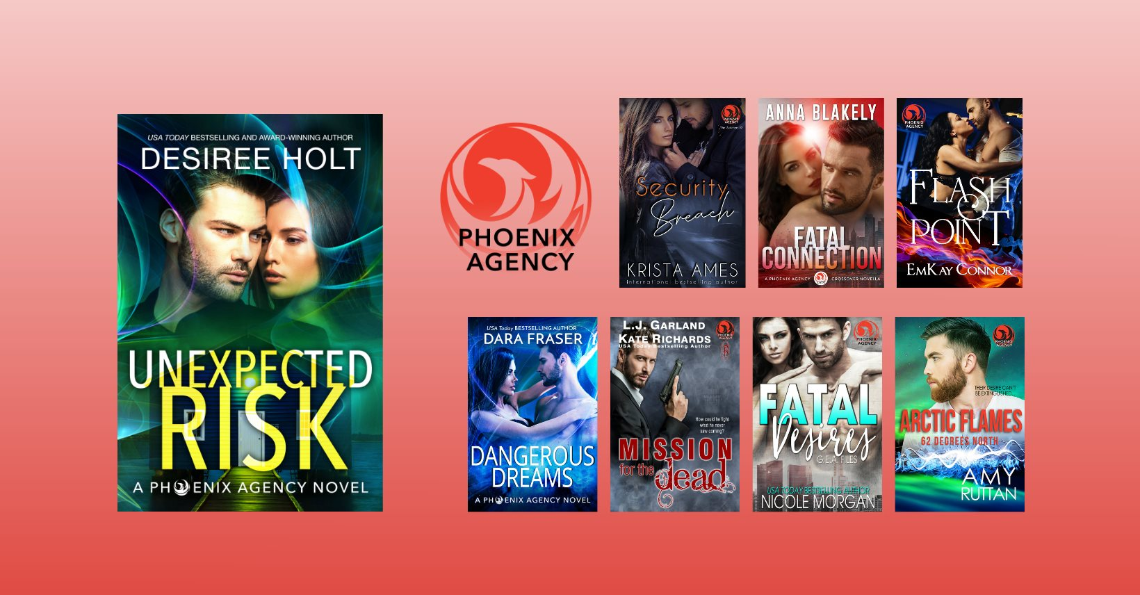 February 28, 2020: New Phoenix Agency World Releases